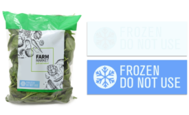 On-Pack Freeze Alert for Food Safety During Shipping