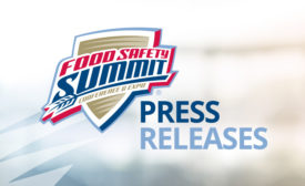 Food Safety Summit Press Releases