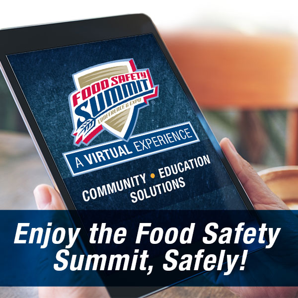 Enjoy the Food Safety Summit Safely