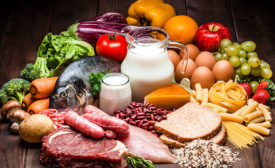 fish, veggies, fruit, all foods