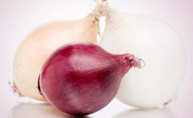 three types of onions