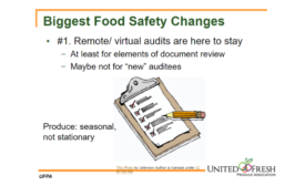 2021 Virtual Food Safety Summit Kicks Off with Effects of COVID-19 on Current and Future Management Practices
