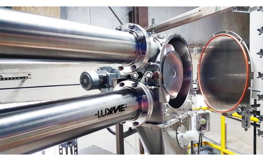 Luxme's SaniLux USDA-accepted CIP Conveyor eliminates risk of contamination