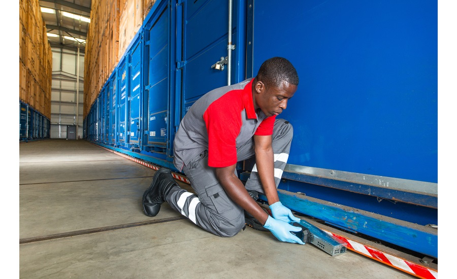Preventing pests in food handling, packing, processing and storage facilities