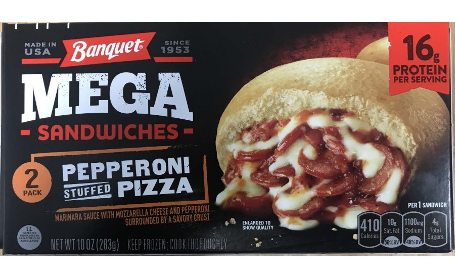 Astrochef LLC. Recalls Pepperoni Stuffed Pizza Sandwich Products due to Misbranding and Undeclared Allergens