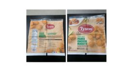 Tyson Foods, Inc. Recalls Chicken Nugget Products due to Possible Foreign Matter Contamination
