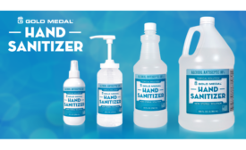 Gold Medal launches new 80 percent alcohol-based hand sanitizer and dispenser