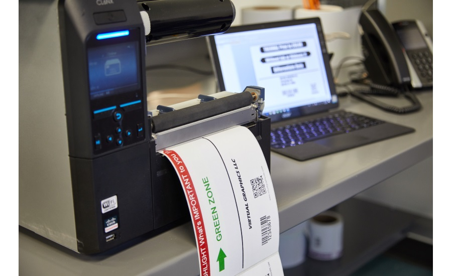 RevealPrint Direct Thermal Labels
