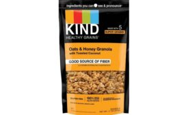 KIND issues voluntary recall due to undeclared sesame seeds in Oats & Honey Granola with Toasted Coconut pouches