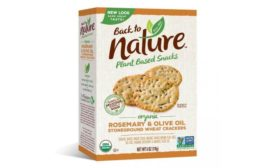 B&G Foods issues voluntary allergy alert on undeclared milk in a limited number of boxes of Back to Nature Organic Rosemary & Olive Oil Stoneground Wheat Crackers