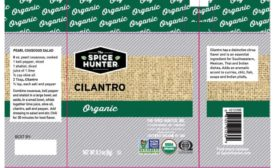 Sauer Brands, Inc. voluntarily recalls certain The Spice Hunter products because of potential salmonella contamination