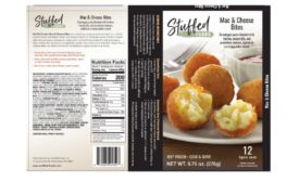 Stuffed Foods LLC recalls frozen snack products due to misbranding and an undeclared allergen