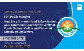 FDA to Host New Era of Smarter Food Safety Summit on E-Commerce