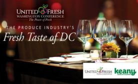 United Fresh and Keany Produce Partner to Give Washington Conference Attendees A Fresh Taste of DC