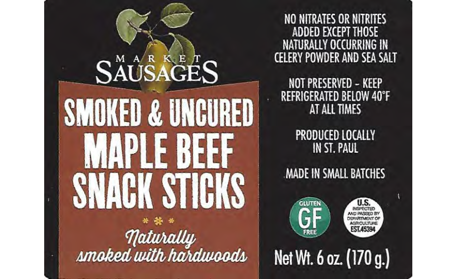 CM&R Inc. Recalls Beef Stick Products due to Misbranding and Undeclared Allergens