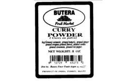 curry powder Sirob Imports recall
