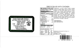 Caito Foods LLC. Recalls Salads with Chicken Products due to Misbranding and Undeclared Allergens