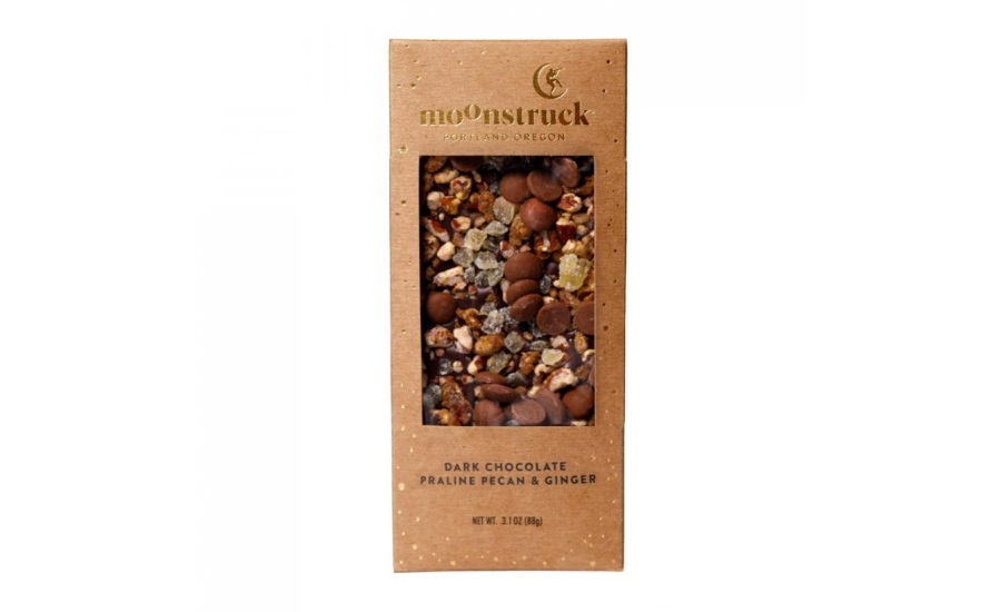 Moonstruck Chocolate Issues Allergy Alert on Undeclared Milk in 3.1 oz. Praline Pecan & Ginger Element Bar in Dark Chocolate