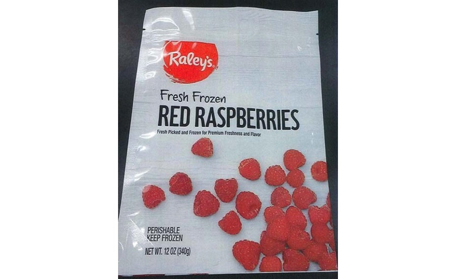 Wawona Frozen Food Voluntarily Recalls Frozen Raspberries Due to Possible Health Risk