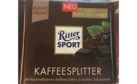 Stark Group International Issues Allergy Alert on Undeclared Milk Allergens in Ritter Sport KAFFEESPLITTER - 3.5 Ounce /100 Gram