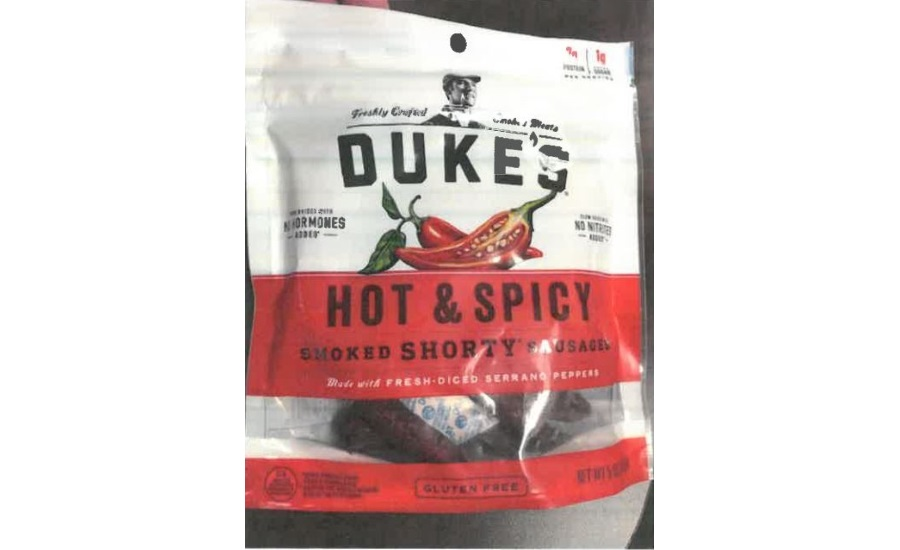 Monogram Meat Snacks, LLC Recalls Pork Sausage Products Due to Possible Product Contamination