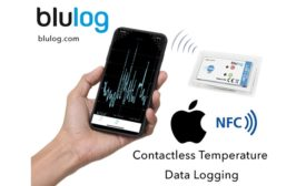 Bluelog NFC Loggers now Apple readable