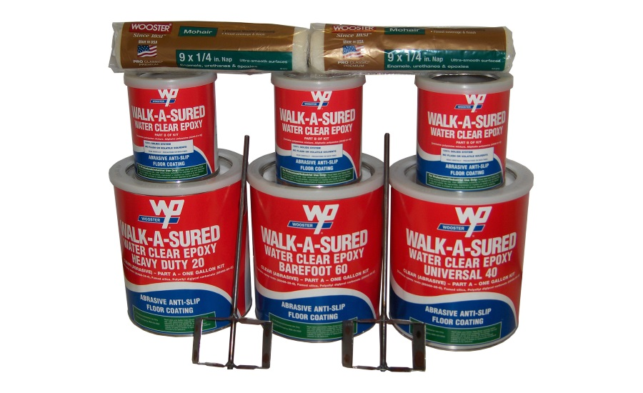 Walk-A-Sured® Water Clear Epoxy System