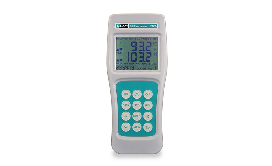 TEGAM's 932A data collection thermometer