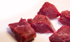Diced Meat