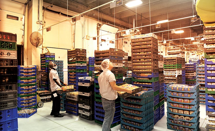 New warehouse traceability solutions for the snack and bakery industry