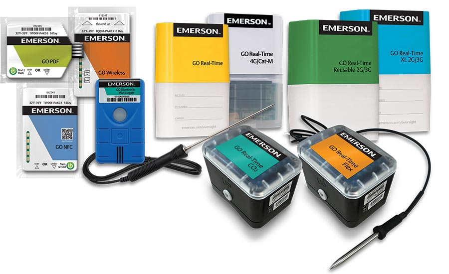 Emerson's GO Real-Time Trackers and Loggers