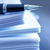 pen, checklist, paper