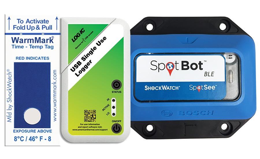 SpotSee temperature control