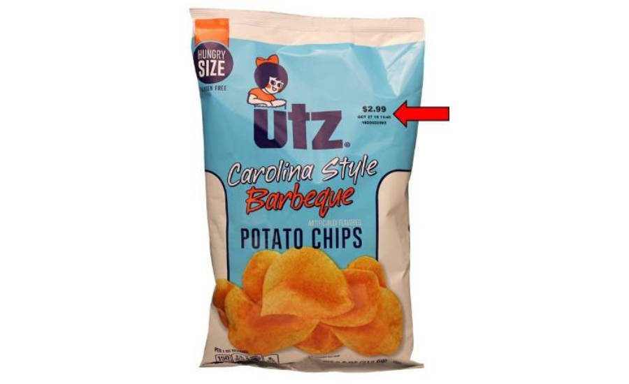 Utz potato chips recalled due to undeclared soy | 2018-07-16