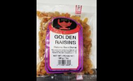 Deep Foods golden raisin recall