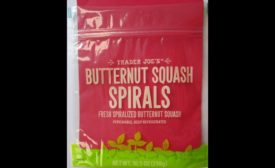 Trader Joe's sweet potato spirals
