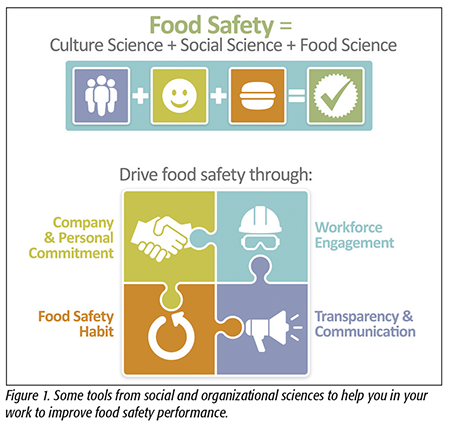 Food Safety = Culture Science + Social Science + Food Science - Food