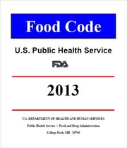 FDA Publishes 2013 Food Code