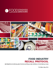 Australia / New Zealand Food Safety Agency Issues Food Recall Protocol