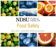 NDSU Master of Public Health Offers Food Safety Degree Specialization
