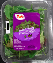 Dole Brand Spinach Recalled in Canada for Possible Listeria Contamination