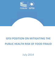 GFSI Takes a Stand against Food Fraud, Issues Position Paper