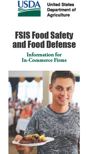 USDA Issues Brochure on Food Safety at In-Commerce Firms