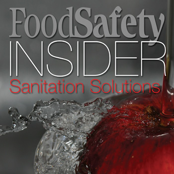 Food Safety Insider Sanitation Solutions Food Safety