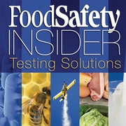 Food Safety Insider: Testing Solutions