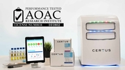CERTUS System for Rapid Pathogen Detection Receives  AOAC Performance TestedSM Certification