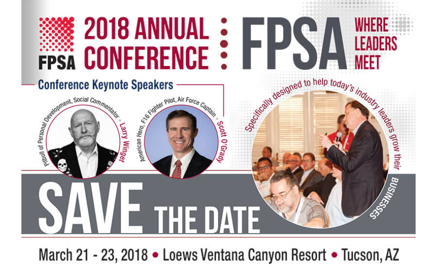 FPSA 2018 Annual Conference