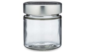 Berlin Packaging Clear Glass Ergo Food Jars