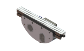 Dorner dry and wet cleaning modules for continuous cleansing on FlexMove Conveyors