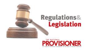 The National Provisioner's Regulations and Legislation